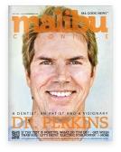 Screenshot of magazine - malibu